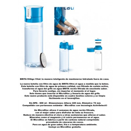 BOTELLA DEP. VITAL IF AZUL