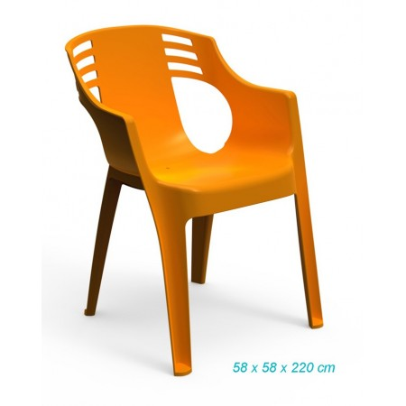 SILLON CITY NARANJA