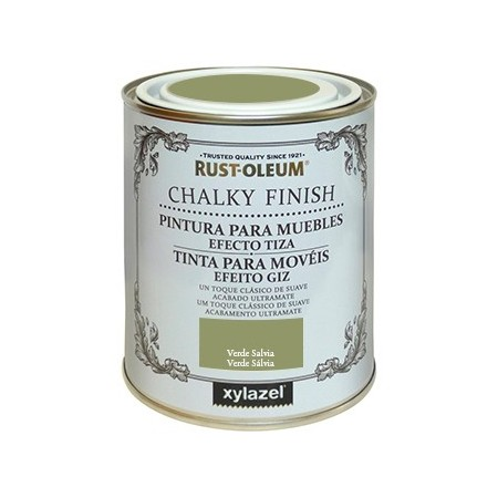 Lata chalky finish 750 verde salvia