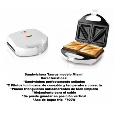 SANDWICHERA DOBLE MIAMI