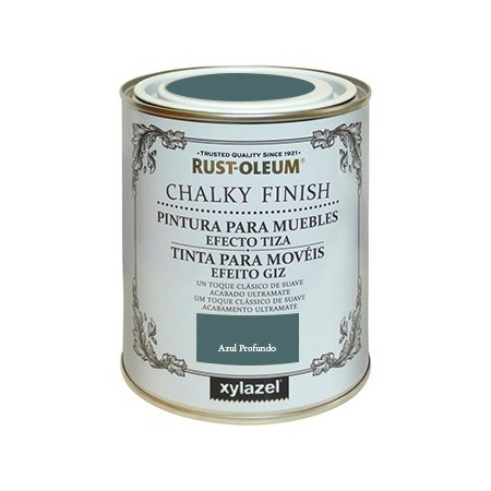 CHALKY FINISH 125 AZUL PROFUND LATA