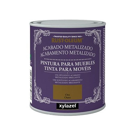 PINTURA METALIZADA 125ML. ORO