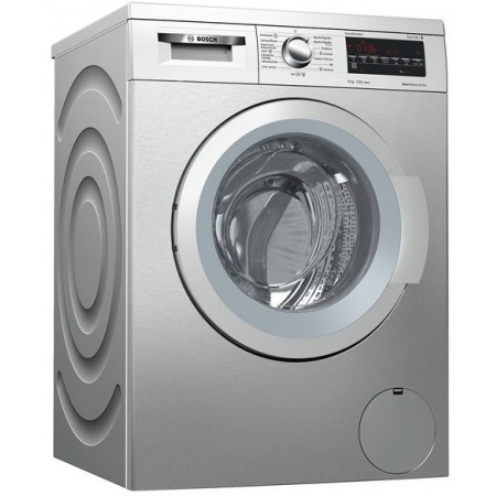 Lavadora Bosch Wuq2448xes 8kg 1200rpm Inox Display Digital Multifuncion Clase Energetica A+++ /_/30%