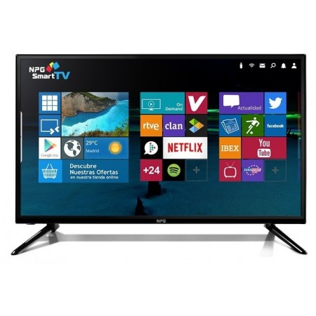 "Tv Npg Led S411l40f 40""inch"" 101,60 Cms Full Hd Smart Tv Android Wifi Tdt2 Usb Hdmi"