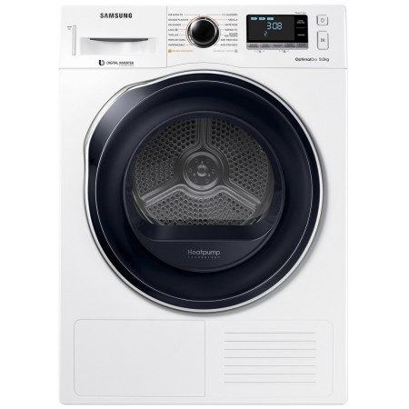 Secadora Samsung Dv90m6200cw/ec Bomba Calor 9kg A+++ Crystalblue Maxi Graphic Display