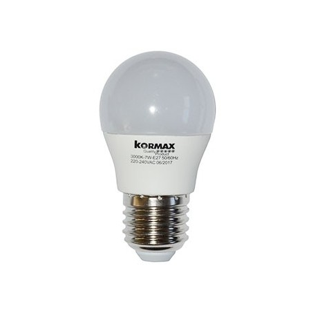 LAMPARA LED G45/_/5W/_/E27 ESFERIC L/FRIA/_/6000