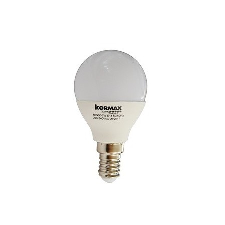 LAMPARA LED G45/_/7W/_/E14 ESFERICA LUZ FRIA 6000
