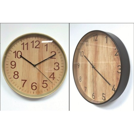 RELOJ PARED MAD.30,5CM.05/1539