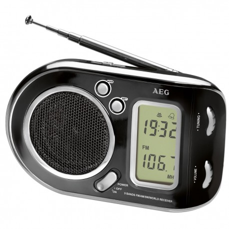AEG Radio Digital WE 4125 Negro