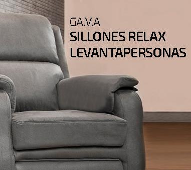 gama sillones relax levantapersonas